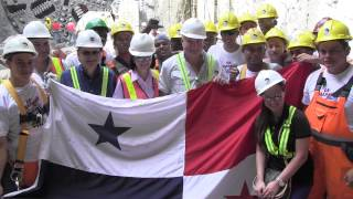 Construction of New Metro (Subway) System - Panama City - TBM Marta Breakout