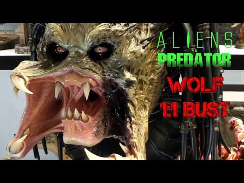 Sideshow Collectibles Wolf Predator Life Size Bust 1:1 Statue 2020 AVP Requiem Aliens Vs Predator