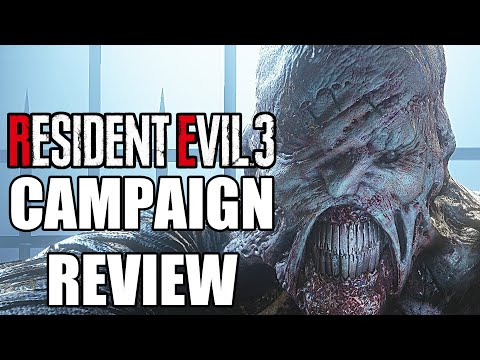 Resident Evil 3 Remake Campaign Review - Disappointing