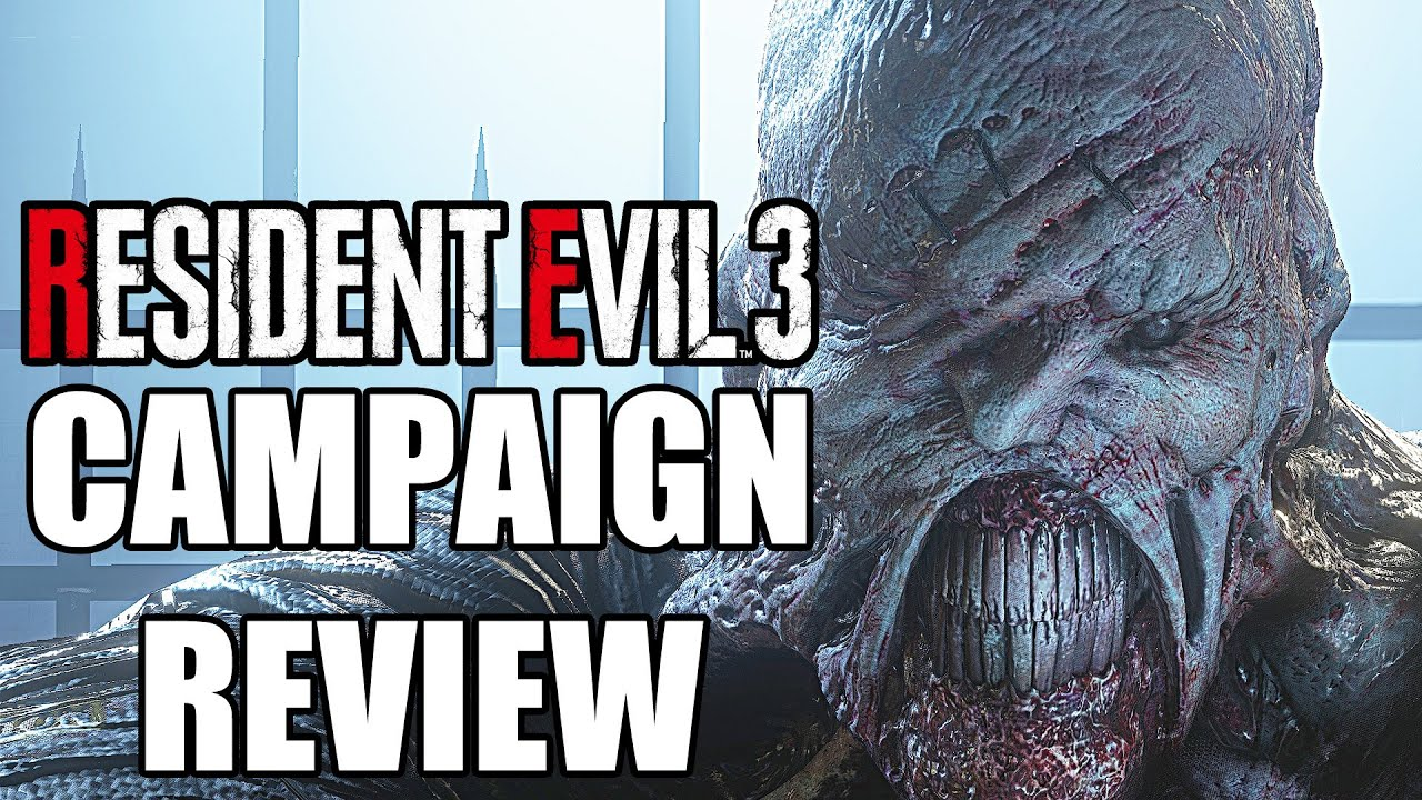Resident Evil 3 Remake Campaign Review - Disappointing (Video Game Video Review)