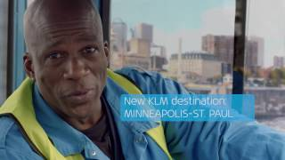 KLM New Destinations - Welcome to Minneapolis - St. Paul.