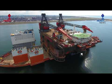 SSCV Hermod loaded on Dockwise Vanguard
