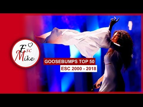 "My Top 50 ""Goosebumps"" Moments In Eurovision [2000 - 2018]"