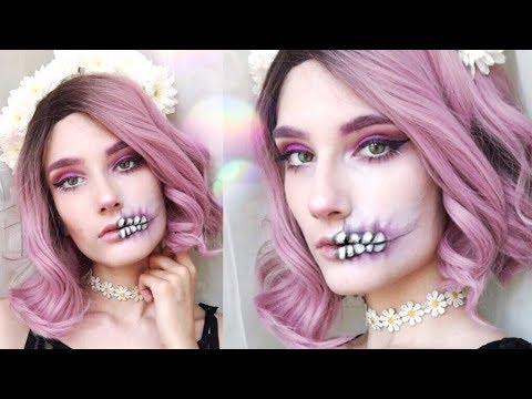 Maquillaje PASTEL GOTH para HALLOWEEN ♡ (Fácil y rápido)