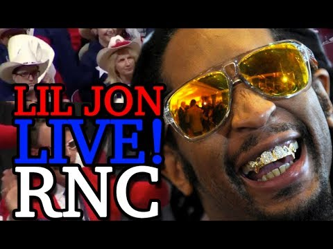 Lil Jon LIVE at the Republican National Convention! (ULTRA RARE!)