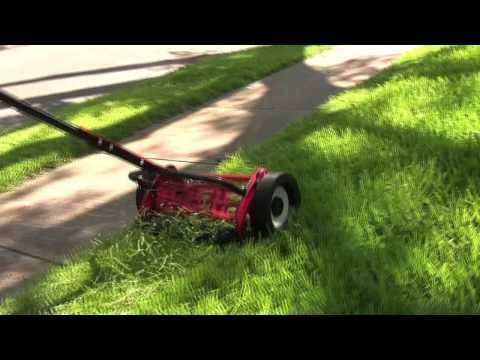 Mascot 6 bladed reel lawn mower