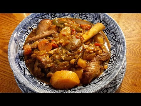 Slow Cooker Lamb Shank Stew  Janice's Way