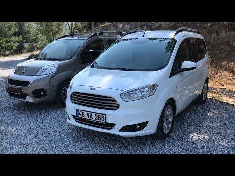 Ford COURIER & Fiat FIORINO | Karşılaştırma | Test | Ford Mu Fiat Mı?