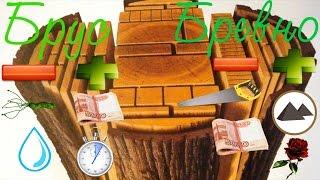 Бревно, брус. Выбираем материал для деревянного дома. #Строим Дом из Бруса(00:45 - Оцилиндрованное бревно 01:01 - Заболонь 03:45 - Строганное и скобленое бревно 05:09 - Профилированный брус..., 2016-02-13T02:16:15.000Z)