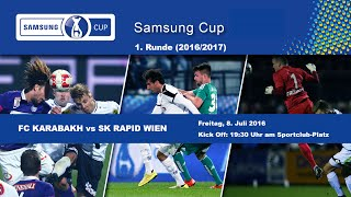 Karabakh Wien vs Rapid Wien full match
