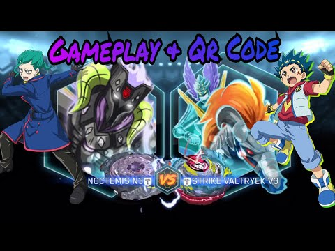 Strike Valtryek V3 & Twin Noctemis N3 Qr Code & Gameplay!