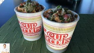 Foodbeast Carne Asada Cup Noodles Challenge