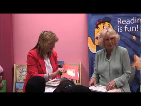The Duchess of Cornwall visits a Kids Read initiative in Qatar