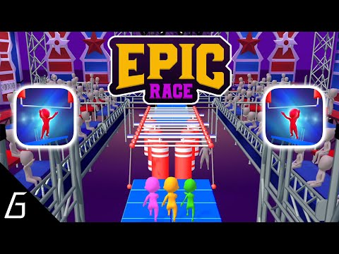 Epic Race 3D Gameplay Part | First Levels (1 - 15) + First Victorys