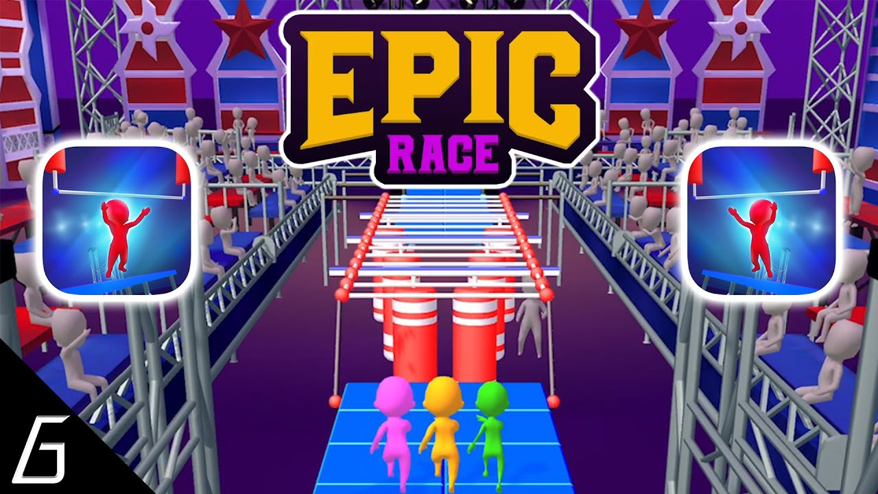 Epic Race 3D - Gameplay Part 1- First Level 1 - 15 (iOS, Android ...