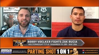 UFC veteran Bobby Voelker talks 170-pound title fight at Shamrock FC 289 on May 20