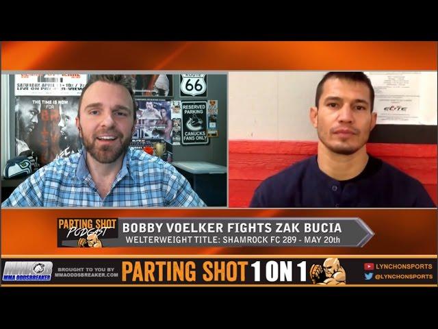UFC veteran Bobby Voelker talks 170-pound title fight at Shamrock FC 289 on May 20