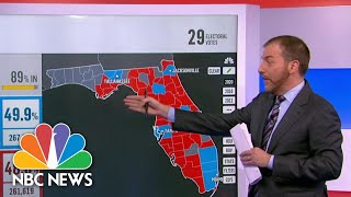 Breaking Down How Three Counties Could Impact The Presidential Race In Florida | NBC News