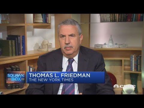 Thomas Friedman: I'm worried about the future of the EU