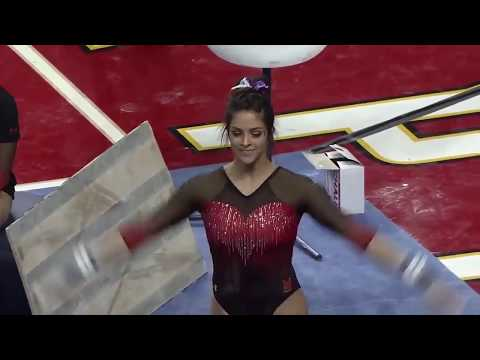 Emilie LeBlanc (Maryland) - Bars (9.825) - 2019 Vs Michigan