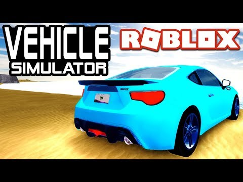 BEST STARTING CAR in Vehicle Simulator! - BRZ | Roblox