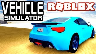 BEST STARTING CAR in Vehicle Simulator! - BRZ | Roblox