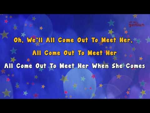 Karaoke - She'll be coming round the mountain | Karaoke Rhymes
