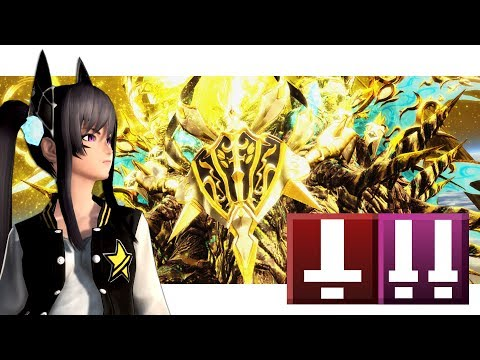 "【PSO2】HuFi ""Phantom God of Creation"" XH Deus Esca Blind Run"