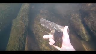 COMPILATION - BEST OBJECT FOUND IN RIVER ! ( iPhone , GoPro, gun ... )