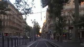 Tramway de marseille Ligne T2 part 1