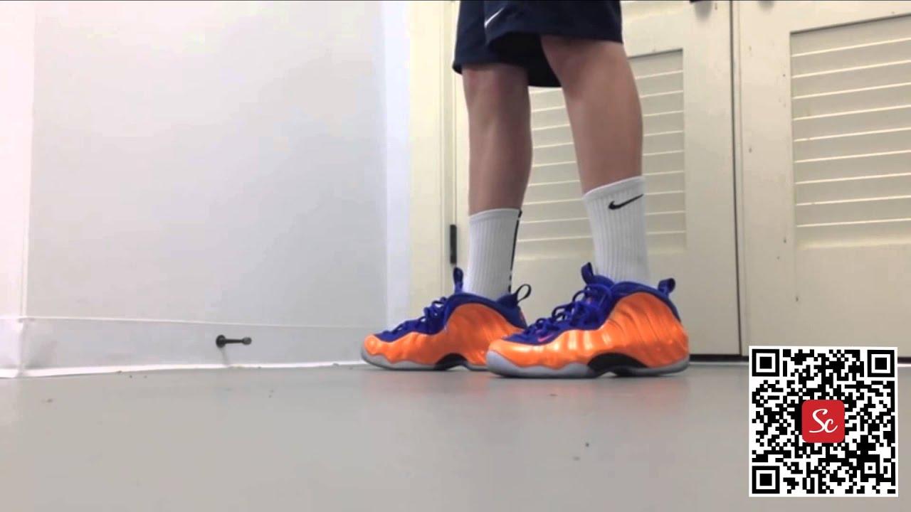 3a0ca4f8eca Solecool App - Nike Foamposite One Knicks On Feet. Review Solecool