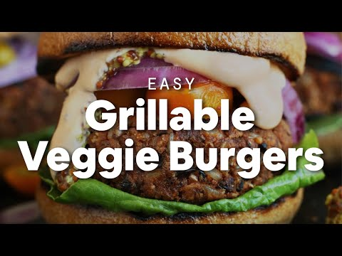 Grillable Veggie Burger Minimalist Baker Recipes