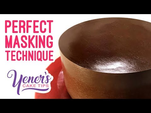 PERFECT MASKING Technique | Yeners Cake Tips With Serdar Yener From Yeners Way