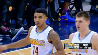 Nuggets Tie Single Game 3-Point Record! 24 Made Threes! | 02.13.17