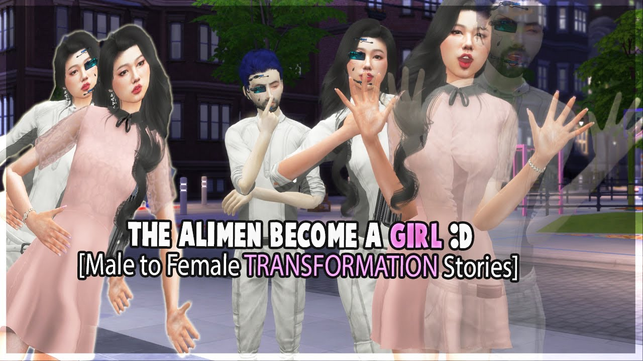Boy Turned Into A Girl |👽 to 👩 | TG Transformation Stories