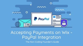 How To Add PayPal to Your Wix Website | Wix Website Tutorial