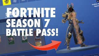 *NEW* FORTNITE SEASON 7 BATTLE PASS REVIEW!!! (BEST SEASON YET?)