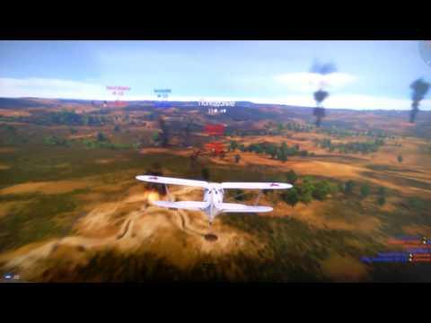 Танки в War Thunder - первая игра во взводе