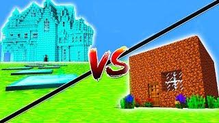 Minecraft: CASA DE RICO vs CASA DE POBRE !! (Casa vs Casa)
