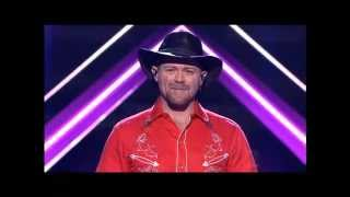 Justin Standley - Live Show 2 - The X Factor Australia 2012 - Top 11 [FULL]