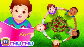 Ring Um Den Rosie (Rosy) | Cartoon-Animation Kinderreime & Lieder für Kinder | ChuChu-TV