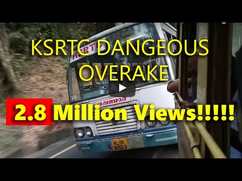 Wayanad | churam | dangerous | overtake | tt | ksrtc |in super fast