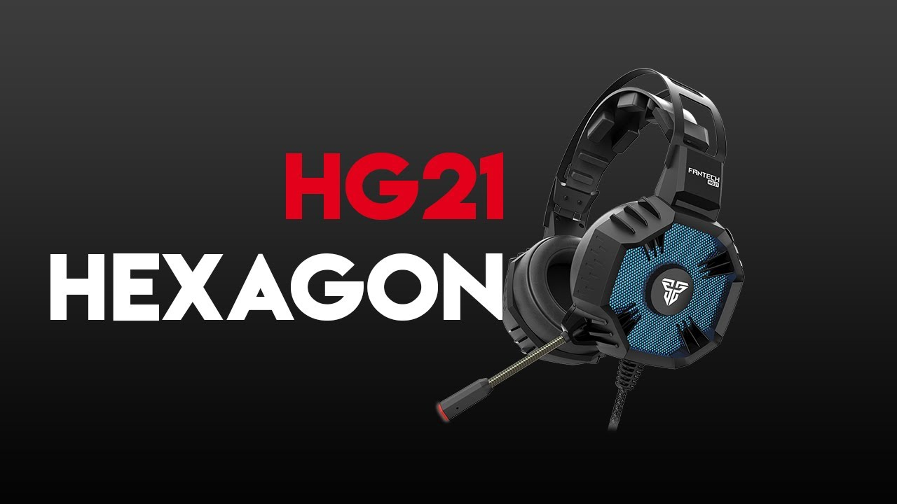 HG21 HEXAGON 7.1 Surround Sound Gaming Headset