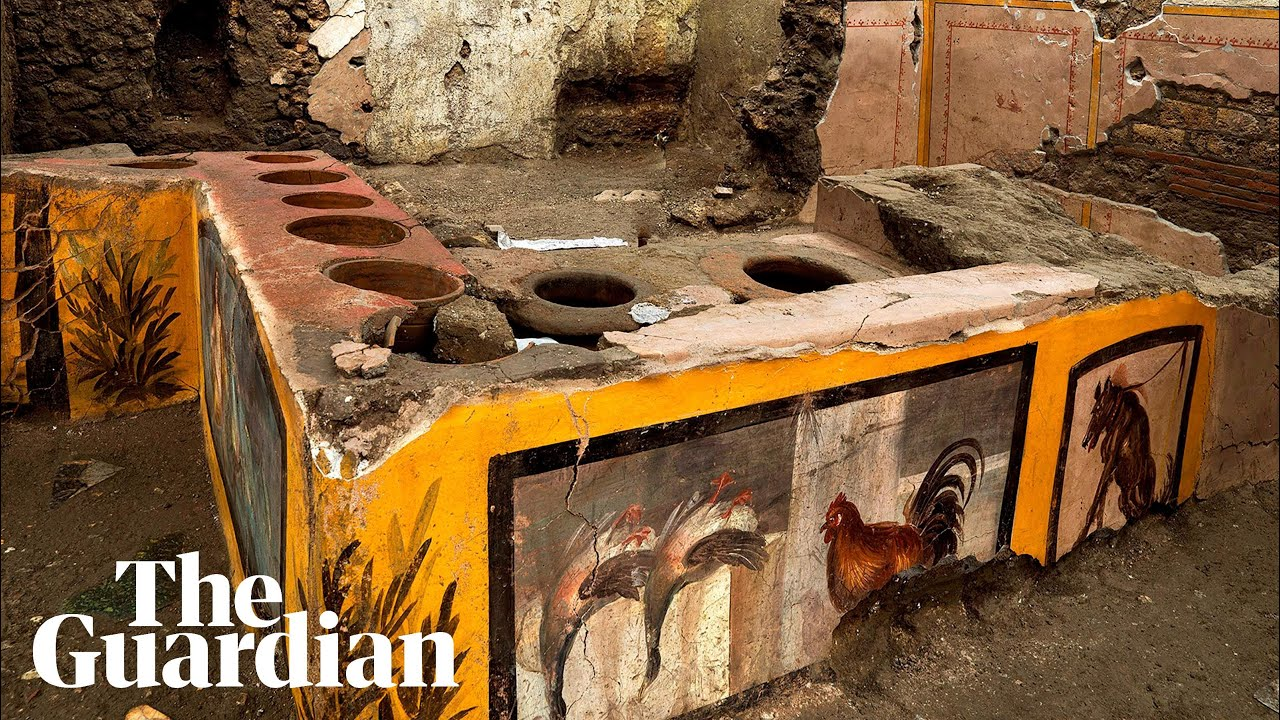 Pompeii: Well-preserved ancient snack bar discovered by ...
