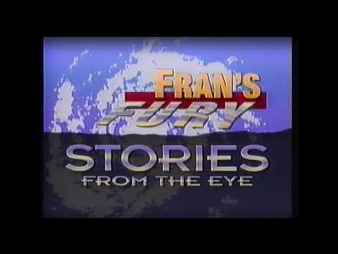 [VHS] Fran's Fury: Stories from the Eye (WRAL-TV5 Hurricane Fran Documentary)