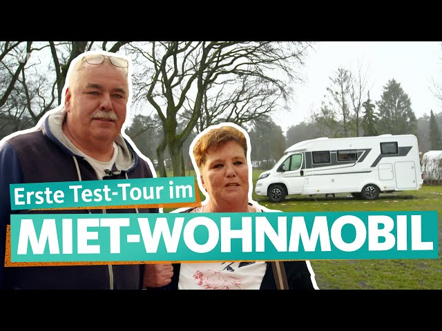 Probefahrt im gemieteten Wohnmobil – Einsteiger-Familien starten durch (2/3) | WDR Reisen