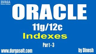 Oracle || Indexes Part-3 by dinesh