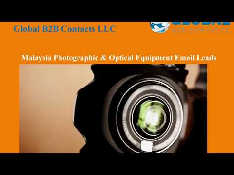 Malaysia Photographic & Optical Equipment Email Leads