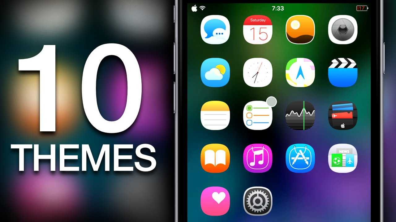best new iphone apps new top 10 best ios 9 amp ios 8 cydia winterboard themes for 13640