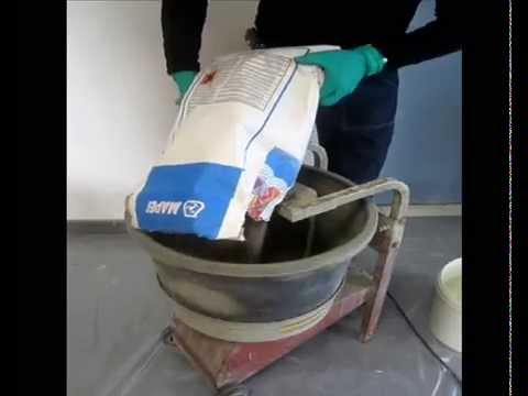 R alisation d 39 une douche en forme de pente avec mortier for Salon samse